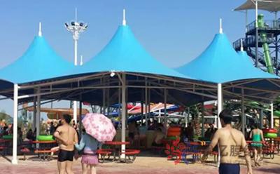 游乐场/儿童乐园膜结构遮阳棚