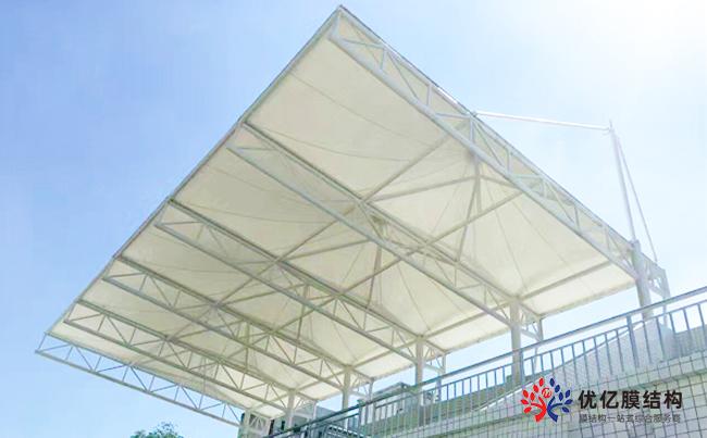 敦化市一高膜体育场膜结构看台